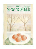 The New Yorker Cover - November 28, 1970 Regular Giclee Print by Charles E. Martin
