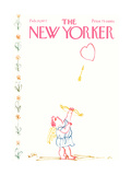 The New Yorker Cover - February 14, 1977 Giclee Print by William Steig