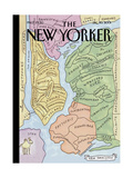 "The New Yorker Cover, ""New Yorkistan"" - December 10, 2001 Giclee Print by Maira Kalman & Rick Meyerowitz"