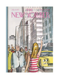 The New Yorker Cover - July 8, 1972 Giclee Print by Charles Saxon