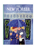 The New Yorker Cover - October 12, 1987 Giclee Print by Barbara Westman