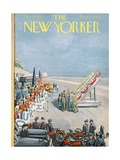 The New Yorker Cover - September 15, 1956 Giclee Print by Arthur Getz