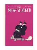 The New Yorker Cover - February 28, 1925 Regular Giclee Print by Carl Fornaro