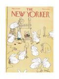 The New Yorker Cover - March 27, 1978 Regular Giclee Print par Arnie Levin