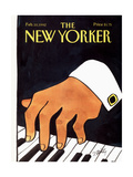 The New Yorker Cover - February 10, 1992 Regular Giclee Print by Donald Reilly