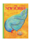 The New Yorker Cover - April 20, 1992 Regular Giclee Print by Jenni Oliver