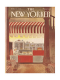 The New Yorker Cover - February 11, 1985 Regular Giclee Print by Abel Quezada