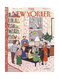The New Yorker Cover - December 10, 1990 Giclee Print by Devera Ehrenberg