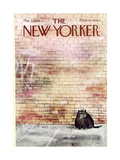 The New Yorker Cover - May 3, 1969 Regular Giclee Print by Ronald Searle