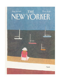 The New Yorker Cover - August 29, 1983 Regular Giclee Print by Heidi Goennel