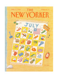 The New Yorker Cover - July 11, 1988 Premium Giclee Print by Bob Knox