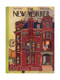 The New Yorker Cover - September 29, 1934 Giclee Print by Arnold Hall
