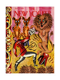 The New Yorker Cover - April 14, 1934 Giclee Print by Harry Brown
