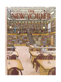 The New Yorker Cover - January 9, 1984 Regular Giclee Print by Roxie Munro