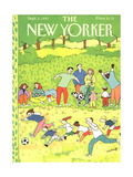 The New Yorker Cover - September 2, 1991 Giclee Print by Devera Ehrenberg