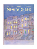 The New Yorker Cover - December 17, 1984 Giclée-Druck von Iris VanRynbach