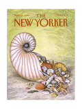 The New Yorker Cover - April 11, 1988 Regular Giclee Print by John O'brien