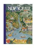 The New Yorker Cover - August 18, 1934 Regular Giclee Print by Ilonka Karasz