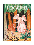 The New Yorker Cover - January 19, 1929 Regular Giclee Print by Constantin Alajalov
