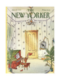 The New Yorker Cover - January 23, 1984 Regular Giclee Print by George Booth
