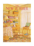 The New Yorker Cover - March 2, 1987 Regular Giclee Print by Jenni Oliver