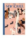 The New Yorker Cover - February 8, 1930 Regular Giclee Print von Theodore G. Haupt
