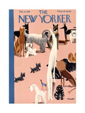 The New Yorker Cover - February 8, 1930 Giclee Print by Theodore G. Haupt