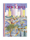 The New Yorker Cover - April 21, 1928 Giclee Print by Ilonka Karasz