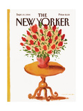 The New Yorker Cover - September 10, 1984 Giclee Print by Abel Quezada