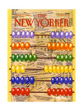 The New Yorker Cover - April 17, 1989 Regular Giclee Print by Bob Knox