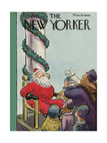 The New Yorker Cover - December 3, 1932 Giclee Print by Helen E. Hokinson