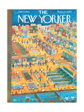 The New Yorker Cover - June 2, 1962 Premium Giclee Print by Anatol Kovarsky
