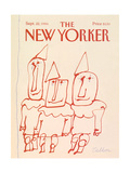 The New Yorker Cover - September 22, 1986 Giclee Print by Robert Tallon