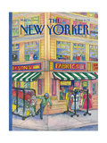 The New Yorker Cover - May 16, 1988 Gicl&#233;e-Druck von Iris VanRynbach