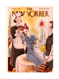 The New Yorker Cover - September 4, 1943 Regular Giclee Print by Rea Irvin