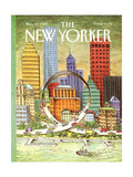 The New Yorker Cover - May 29, 1989 Giclee Print by John O'brien
