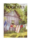 The New Yorker Cover - July 28, 1956 Giclee Print by Edna Eicke