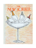 The New Yorker Cover - December 31, 1979 Regular Giclee Print by Edward Koren
