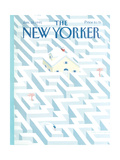 The New Yorker Cover - January 28, 1991 Regular Giclee Print by Kathy Osborn