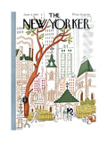 The New Yorker Cover - June 2, 1934 Giclee Print by Harry Brown