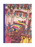 The New Yorker Cover - January 5, 1929 Giclee Print by Sue Williams