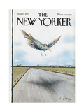 The New Yorker Cover - August 27, 1973 Regular Giclee Print by Ronald Searle