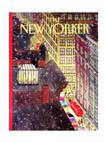 The New Yorker Cover - December 7, 1992 Regular Giclee Print par Roxie Munro