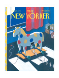 The New Yorker Cover - November 25, 1991 Regular Giclee Print by Kathy Osborn