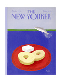 The New Yorker Cover - April 6, 1992 Regular Giclee Print by Heidi Goennel