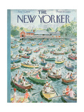 The New Yorker Cover - June 23, 1956 Giclee Print by Garrett Price