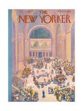 The New Yorker Cover - July 7, 1934 Giclee Print by Ilonka Karasz