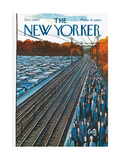 The New Yorker Cover - October 7, 1967 Regular Giclee Print by Arthur Getz