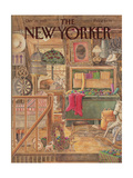 The New Yorker Cover - December 21, 1987 Regular Giclee Print by Jenni Oliver