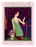 Vogue Cover - December 1925 Regular Giclee Print by Pierre Brissaud
